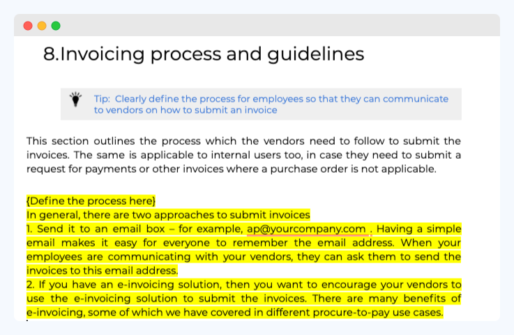 Invoicing_process and guidelines