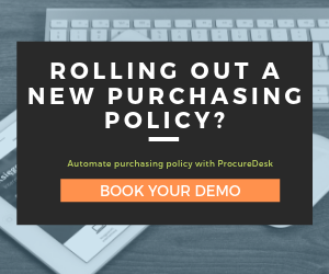 Purchasing policy automation