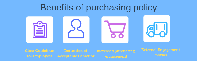 Purchasing policy benefits