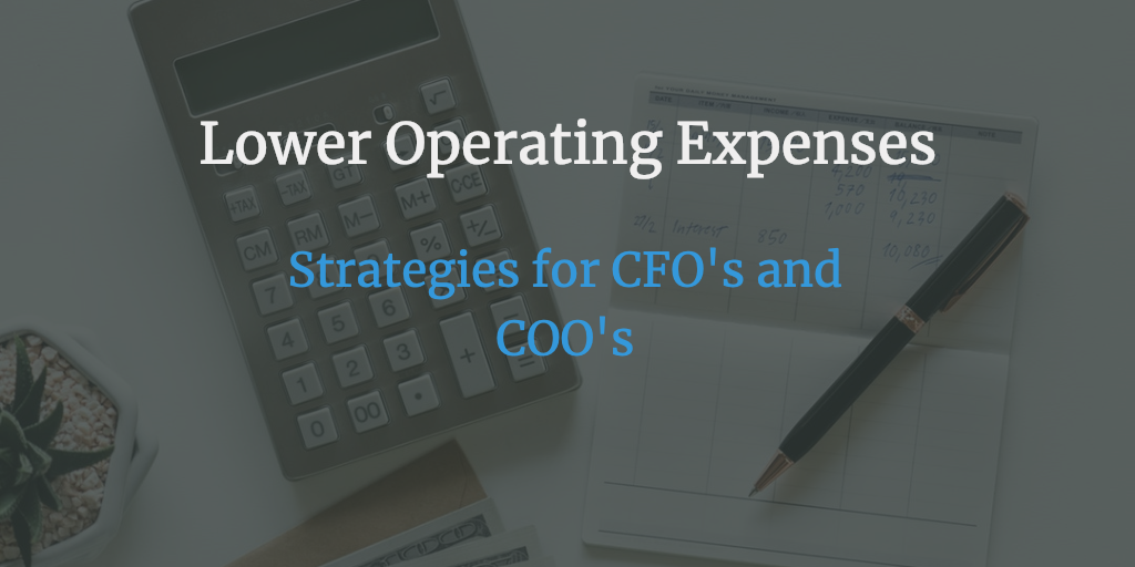 Lower Operating Costs for your business