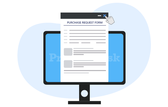 Get rid of paper requisitions