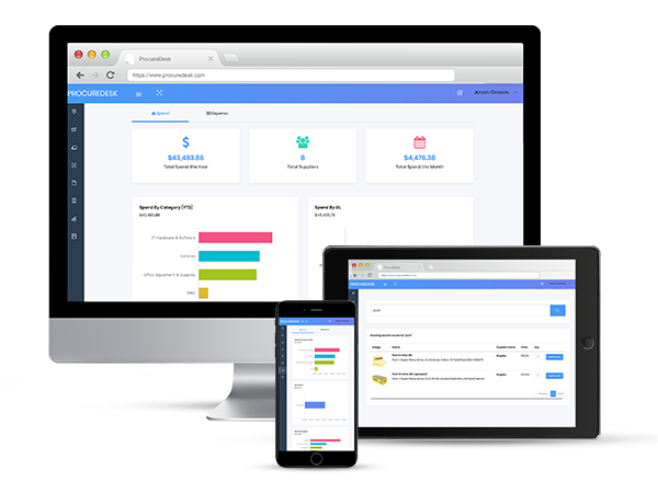ProcureDesk Automated platform