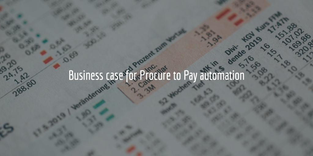 business case for procure to pay