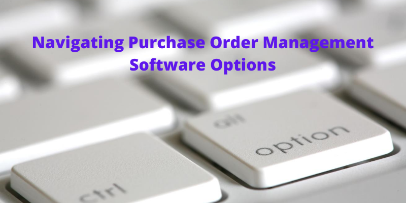 Purchase order management software for small business
