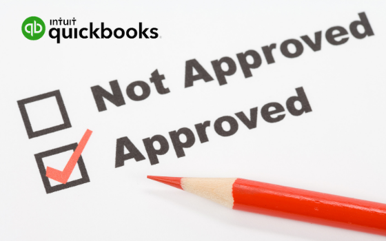 purchase order approval quickbooks