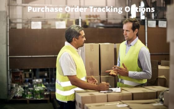 purchase order tracking options