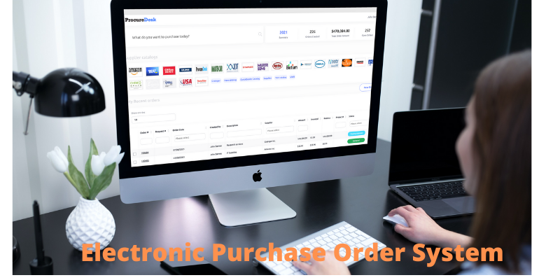 Electronic purchase order