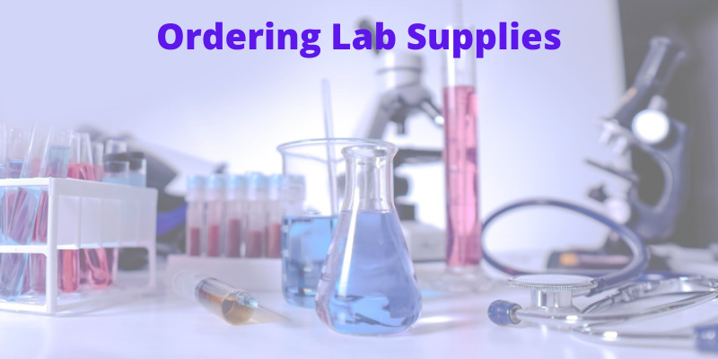Ordering lab supplies without emails
